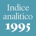 Indice analitico annata 1995