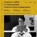 Cineforum a BFM | La ricetta perfetta (ridotto)