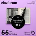 1 annata (10 numeri) di Cineforum in .pdf!