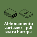 Abbonamento alla rivista cartacea + .pdf | extra Europa (via aerea)