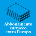 Abbonamento alla rivista | extra Europa (via aerea)