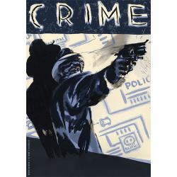 BFM 2012 - Manifesto | Igort – Crime. Attento: sei seguito dalle ombre