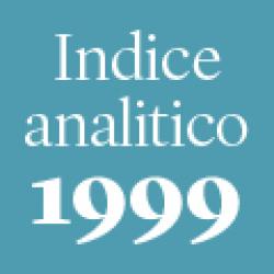 Indice analitico annata 1999