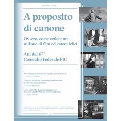 [PDF] Cineforum Book/A proposito di canone
